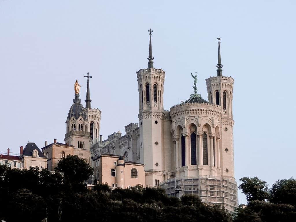 Lyon France Basilica